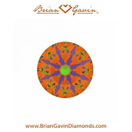 Ideal-Cut, Brian Gavin Signature Rund Blue, 1.52ct J VS2 AGS - was Ihnen über die Farbe von Diamanten nicht erzählt wird