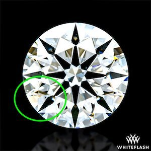 Hearts-and-Arrows, A Cut Above, VS2 mit 0,904ct, Farbe H, Beisp. 2