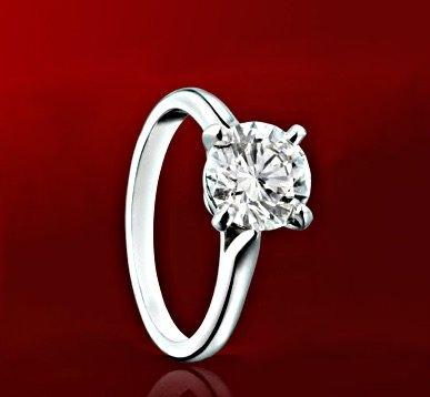 Klassischer Cartier Verlobungsring Solitaire Signature 1895 in Platin - Cartier Verlobungsringe und ihre Qualität