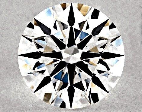 "0,62 Karat Farbstufe G, Diamanten-Reinheit VVS1, GIA-Bewertung zum Diamanten-Schliff: Polish, Symmetrie ""Excellent"""