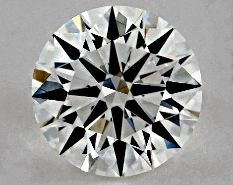 "0.90ct, Farbstufe H, Reinheit VS2, GIA Diamant-Schliff 3-fach ""Very Good"""