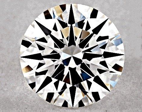 Prüfung und Vorauswahl mit dem Holloway Cut Advisor für Diamant AGS IDEAL Cut mit 0.63ct - Ergebnis für die Auswahl qualifiziert
