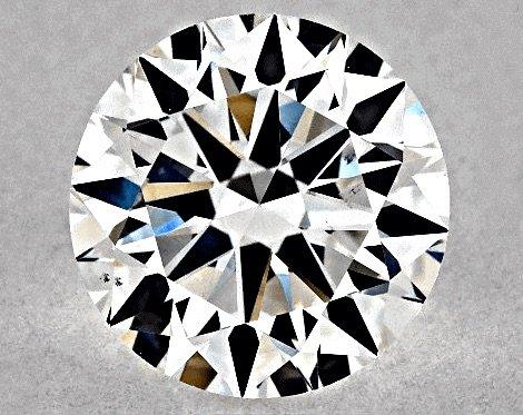 "1.00ct, Farbstufe F, Reinheit VS2, GIA Diamant-Schliff 3-fach ""Very Good"""