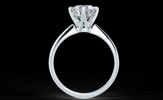 Tiffany Setting 0,69ct Color G