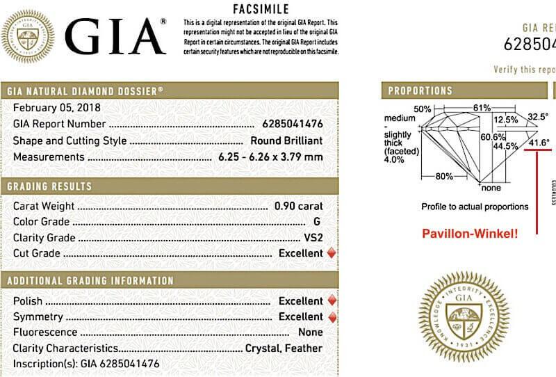 Wie gut GIA Diamanten mit 3x Excellent wirklich sind - 2rund. exc-GIA-Pav 41.6 0.90ct G VS2