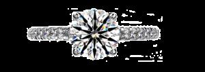 Solasfera - ein Diamantschliff, der modifizierte Brillantschliffe unter den rund geschliffenen Diamanten auf Grund in seiner Brillanz besonders prägt