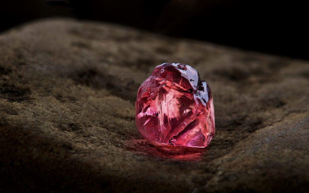 Die seltenen rosa Diamanten der Argyle Diamantenmine