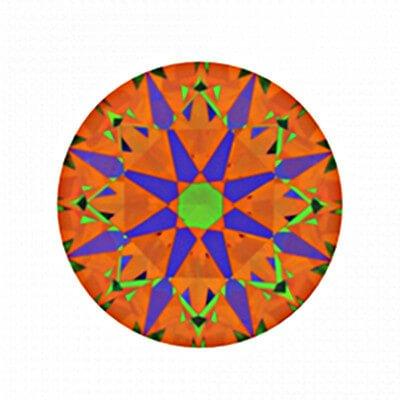 ASET von Diamant mit 1,756 Karat, der Farbe G und der Reinheit VS1