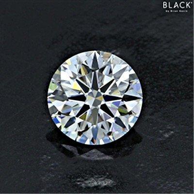 Vergrößerter Diamant aus der Black-Serie mit 1.131 Karat F VS2