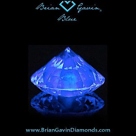 Fluoreszenz ist Medium für Diamant 1,123 Karat H VS1