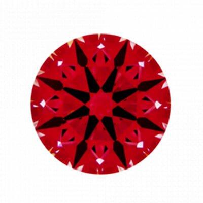 Ideal-Scope von Diamant mit 1,756 Karat