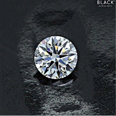 Kleiner Signatur-Diamant, Hearts and Arrows aus der Black-Serie mit 0.267 Karat, Farbe E, Reinheit VS1
