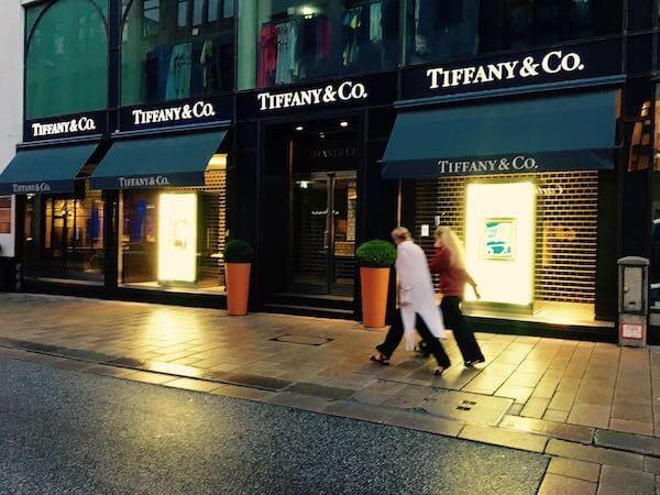 Tiffany-Boutique in Hamburg