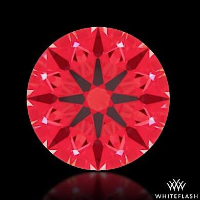 Whiteflash Ideal-Scope-des Diamanten mit dem Schliff A Cut Above 0.802ct G VS1 - Diamanten mit Super Ideal Cut