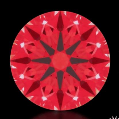 Ideal-Scope, Diamant der A Cut Above-Serie®️ 0.602ct G, VS2 mit perfekter Symmetrie